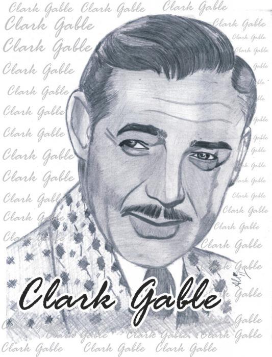 Clark Gable por bobbydar01@gmail.com